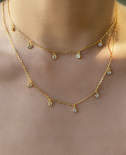 Load image into Gallery viewer, Demi Drop Necklace | Gold Plated 925 Sterling Silver