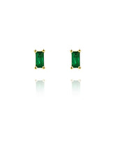 Load image into Gallery viewer, Envy Studs | Gold Plated 925 Sterling Silver