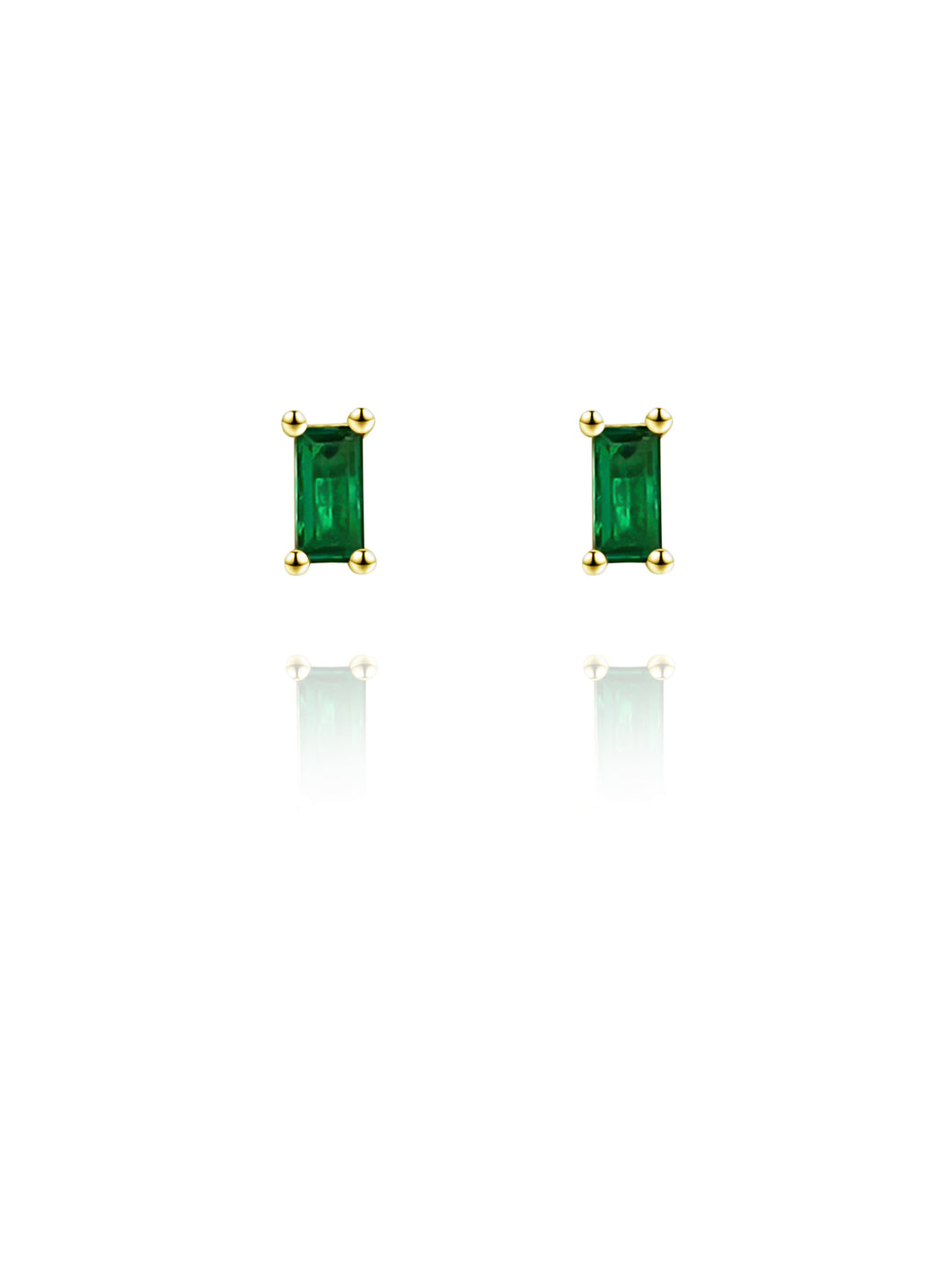 Envy Studs | Gold Plated 925 Sterling Silver