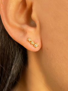 Comet Climbers | Gold Plated 925 Sterling Silver
