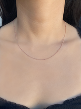 Load image into Gallery viewer, Sophie Chain Rose Gold | Rose Gold Plated 925 Sterling Silver