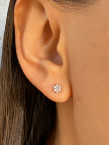 Melodie Studs Silver | 925 Sterling Silver