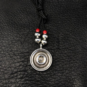 Ripple Pendant-necklace-CrazyHorse Classics-Waddie CrazyHorse Silver Jewelry