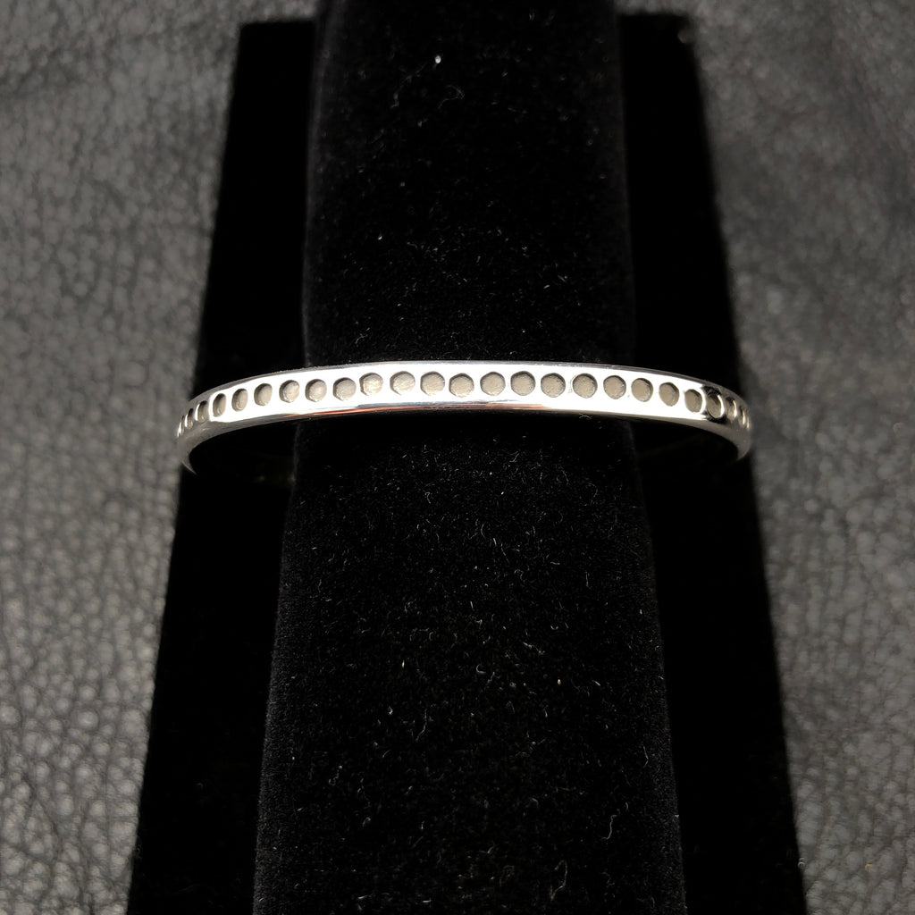 "5.25"" Small Stamped Bangle"