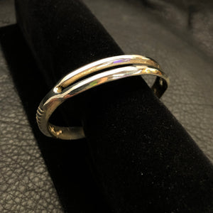 Offset Single Split Bracelet