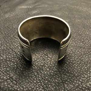Wide Diamond Stamp Cuff