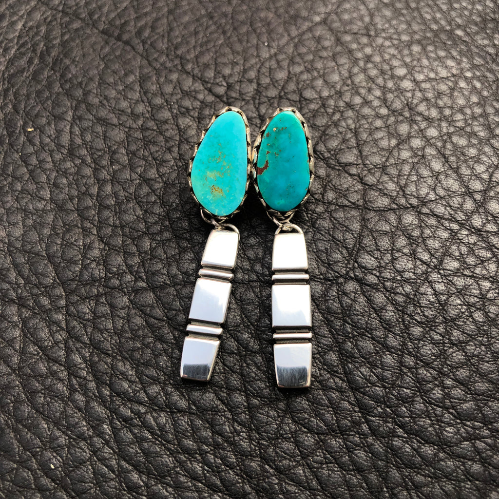 Pilot Mt Turquoise Earrings
