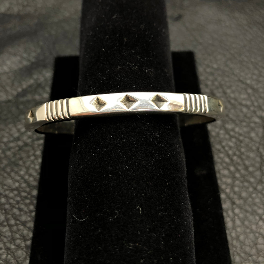 Diamonds and Stripes Bangle