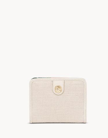 Retreat Mini Snap Wallet Cabana Leaf