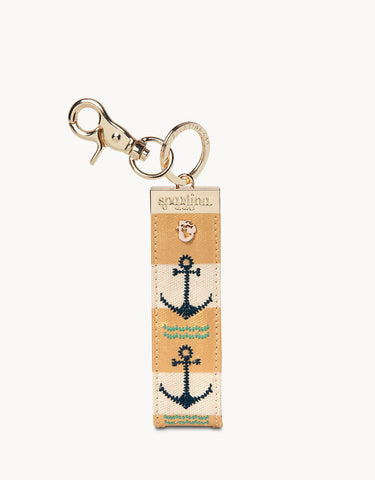 Grab and Go Keychain Anchor Stripe