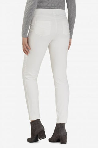 Pull-On Micro Corduroy Pant in Cream