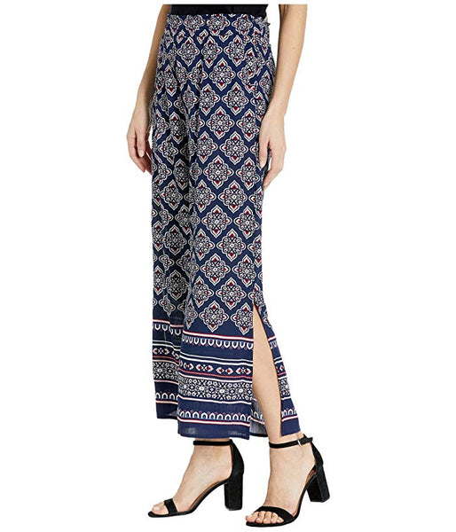 Wide Leg Palazzo Ankle Pants