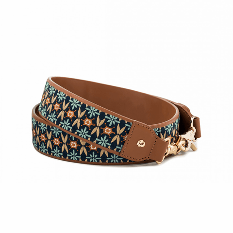 Siren Strap Embroidered Geo Saddle