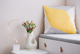 Cushion Cover Lisboa Grande Yellow