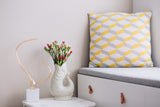Cushion Azulejo Aveiro Yellow