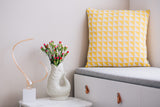 Cushion Azulejo Coimbra Yellow