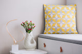 Cushion Azulejo Lisboa Yellow
