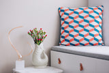 Cushion Cover Azulejo Aveiro Coral