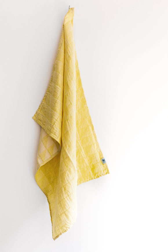 Tea Towel Serra Yellow
