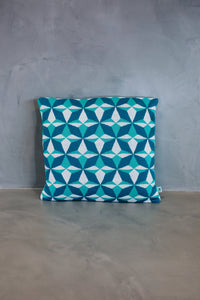 Cushion Cover Azulejo Lisboa Blue