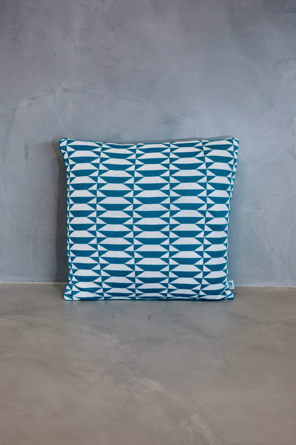 Cushion Azulejo Porto Blue