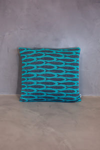 Cushion Sardinha Light Blue