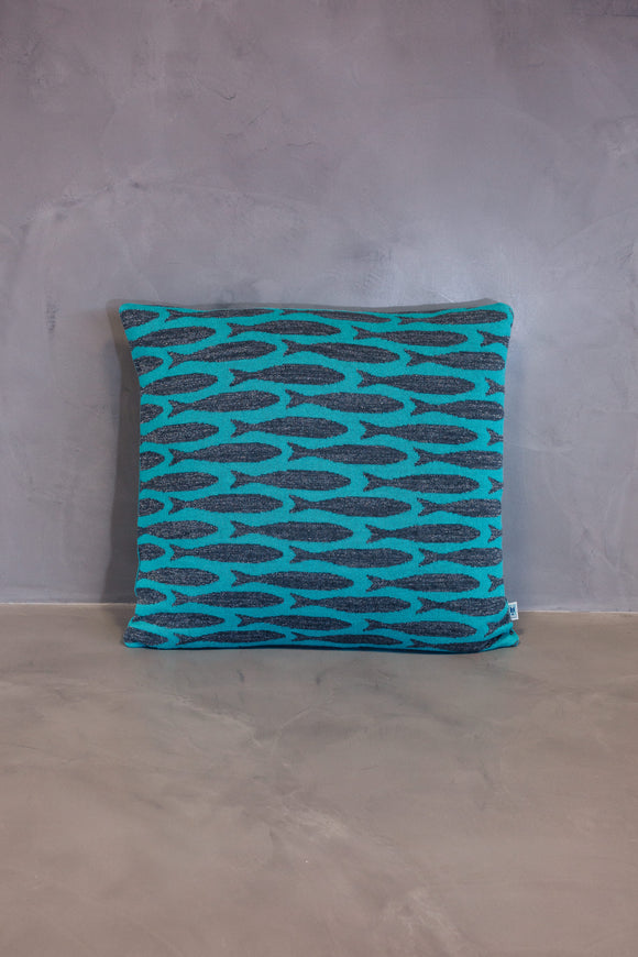 Cushion Cover Sardinha Light Blue