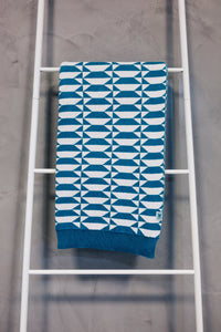 Plaid Azulejo Porto Blue