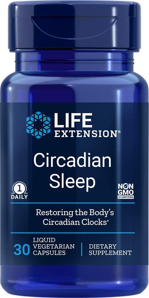Life Extension Circadian Sleep, 30 Liquid Capsules