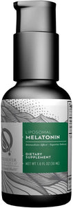 Quicksilver Scientific Liposomal Melatonin - Liquid Sleep, Jet Lag + Immune Support Supplement - Superior Absorption + Customizable Dosing Designed to Minimize Morning Drowsiness, No Soy (1oz / 30ml)