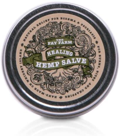 The Fay Farm's Organic Healing Hemp Salve - 1.5 oz