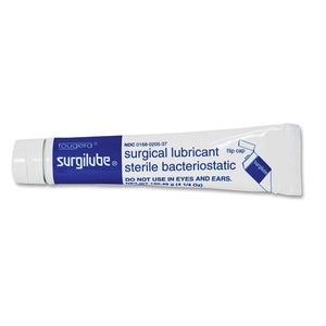 Surgilube Surgical Lubricant Sterile Bacteriostatic Jelly - 4.25 Ounces each (Value Pack of 2)