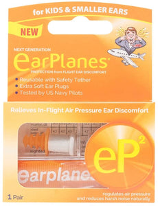 eP2 for Kids by Cirrus Healthcare 1 EarPlanes Reusable Pair (1 Reusable Pair)