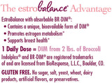 Nature's Way EstroBalance with absorbable DIM, supports healthy estrogen metabolism, 60 Count