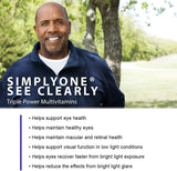 SuperNutrition, SimplyOne See Clearly, One/Day Tablet, Wild Berry, 30 Day Supply
