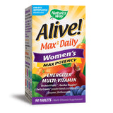 Nature's Way Alive! Max3 Daily Women's Multivitamin, Food-Based Blends and Antioxidants, 90 Tablets