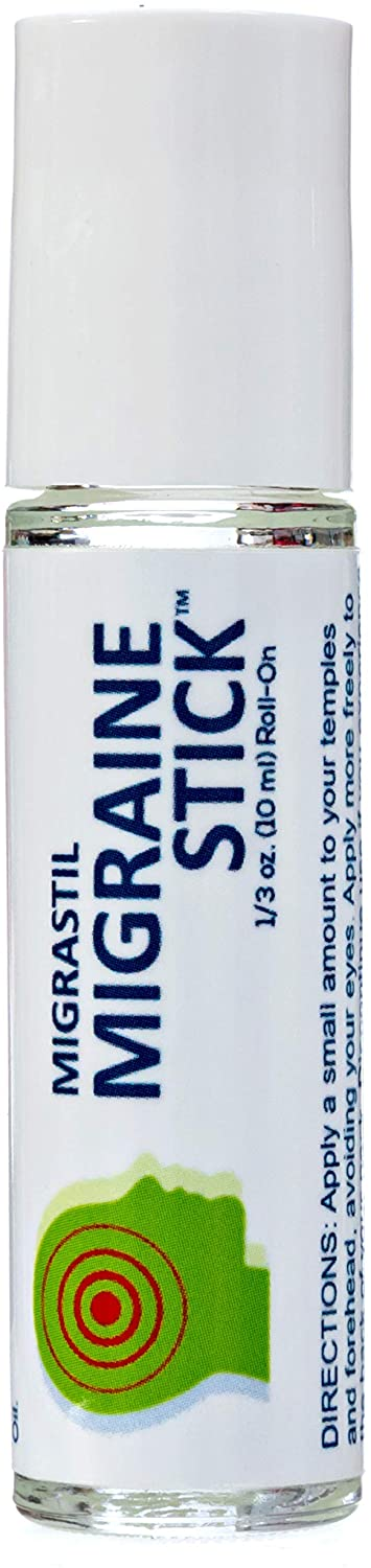 Migrastil Migraine Stick ® Roll-on, 0.3-Ounce Essential Oil Aromatherapy 10ml