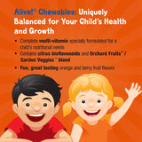 Nature's Way Alive! Children's Premium Chewable Multivitamin, Gluten Free, 120 Chewable Tablets