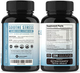 CalmSense Stress Relief Supplement - Calming Herbal Blend & Vitamin B Complex - Keep Your Mind & Body Relaxed, Focused & Positive - Supports Serotonin Increase, Boosts Mood & Relieves Anxiety
