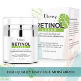 Ulensy Upgraded Retinol Face Cream, Miracle Moisturizing Face Cream, Best Retinol Face Cream for Beautiful Face