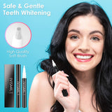 Teeth Whitening Pen, 20+ Uses, Effective & Painless SYOSIN Teeth whitening gel No Sensitivity, Travel Friendly Teeth whitener,Easy to Use, Beautiful White Smile, Natural Mint Flavor