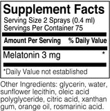 DaVinci Laboratories – Liposomal Melatonin Spray, Sleep Support Supplement, 1 oz., gluten-free, non-GMO ingredients