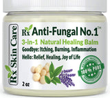 Antifungal Cream – Toenail Fungus Treatment Jock Itch Athletes Foot Ringworm Back Acne & Eczema Extra Strength – Lotion for Dry Cracked Heels & Smelly Feet – Tea Tree Oil Natural Lotrimin Alternative