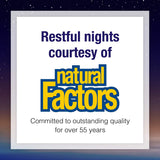 Stress-Relax Chewable Tranquil Sleep by Natural Factors, Sleep Aid, Tropical Fruit Flavor, 60 Tablets (30 Servings)