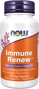 NOW Supplements, Immune Renew™ with Astragalus Root Extract, Immune System Support*, 90 Veg Capsules