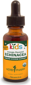Herb Pharm Kids Certified-Organic Alcohol-Free Echinacea Glycerite Liquid Extract (GLCHILD01), 1 Fl Oz (Pack of 1)