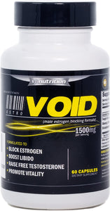 EstroVoid | Estrogen Blocker for Men |1500mg Natural Aromatase Inhibitor, Anti Estrogen, and Testosterone Booster Supplement - Boost Performance, Mood, Energy and Stamina