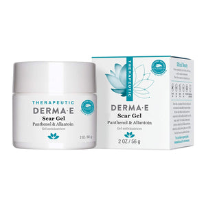DERMA E Scar Gel, Helps Scarred Skin Heal, 2 oz