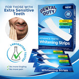 Professional Teeth Whitening Strips- Pack of 28- Whiten Your Teeth with The Best 3D Dental Whitestrips Kit, White Smile, Whitener for Sensitive Tooth, Removes Coffee, Tea & Tobacco Stains from Teeth.