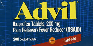 Advil Ibuprofen 200mg 200 Coated Tablets